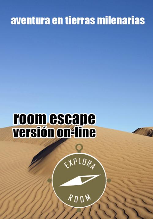 Versió virtual del room escape Explora Room
