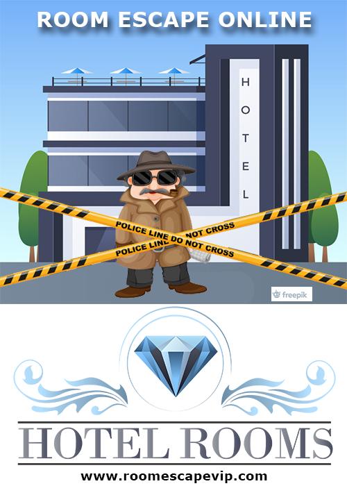 Escape room online pour trouver le voleur dans l'hotel